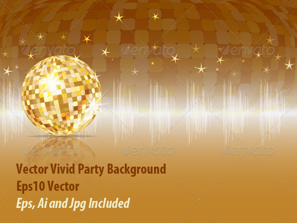GraphicRiver Party Background 6145366