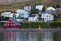 The town of Siglufjordur, the Northern part of Iceland - PhotoDune Item for Sale