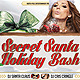 Secret Santa Holiday Bash V2 Flyer - GraphicRiver Item for Sale