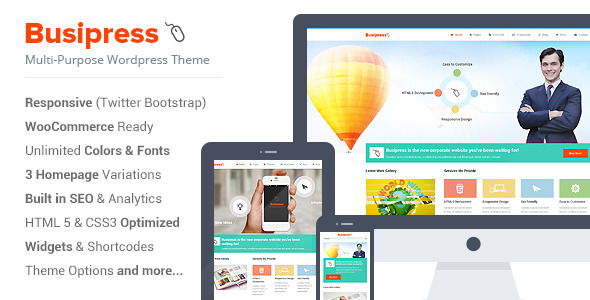 Busipress - Responsive Multi-Purpose Theme