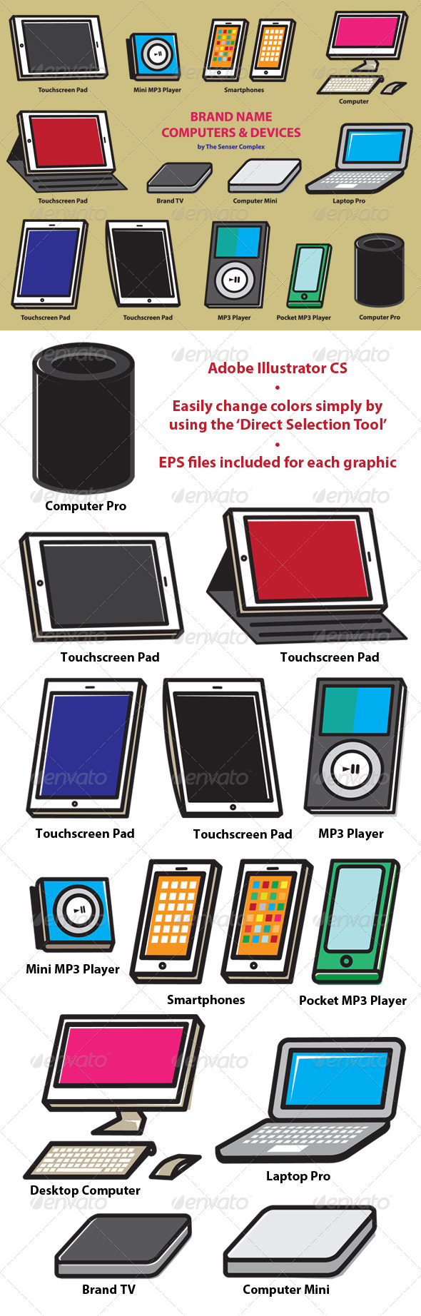 GraphicRiver BrandName Computer and Devices 6147250