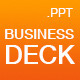 The Business Deck - A Powerpoint Template - GraphicRiver Item for Sale