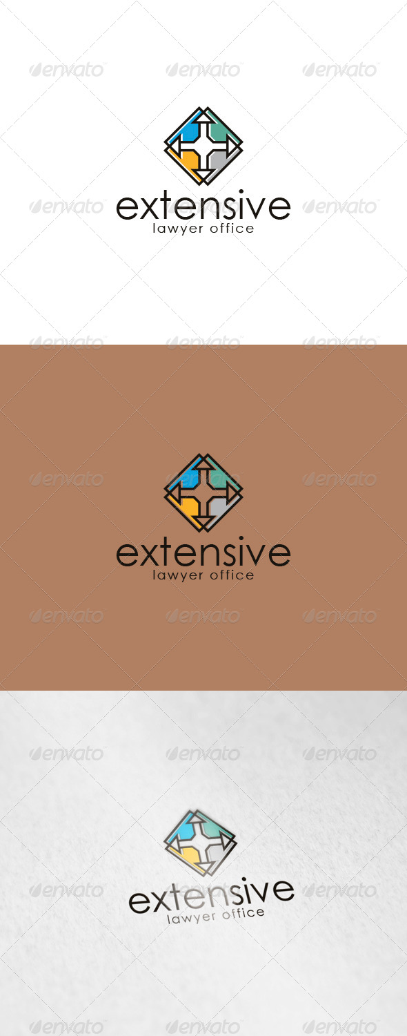 GraphicRiver Extensive Logo 6150434