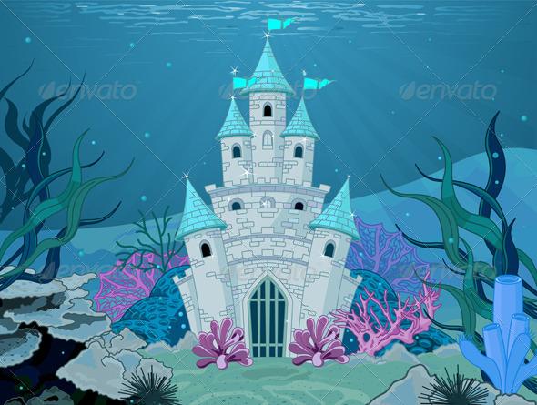 GraphicRiver Mermaid Castle 6150518