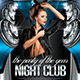 Night Club (Flyer Template 4x6) - GraphicRiver Item for Sale