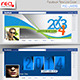 New Year's Facebook Timeline Template - GraphicRiver Item for Sale