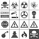 Danger and Warning Icons - GraphicRiver Item for Sale