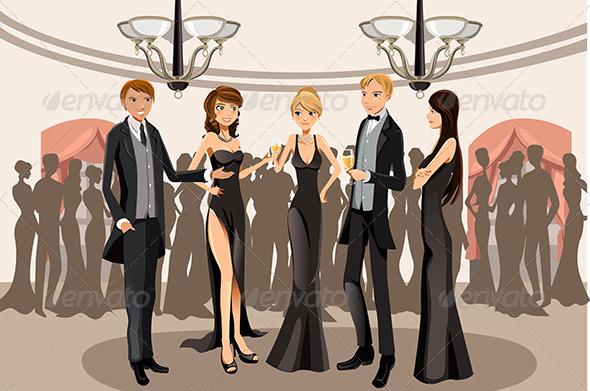 GraphicRiver Banquet Party 6154321