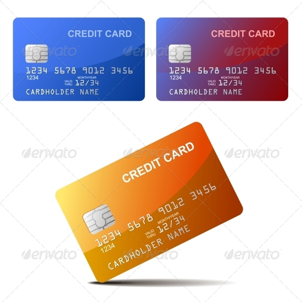 GraphicRiver Realistic Credit Card 6155530