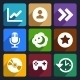 Multimedia Flat Icons Set 6 - GraphicRiver Item for Sale