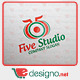 Five Studio '5' Logo Templates - GraphicRiver Item for Sale