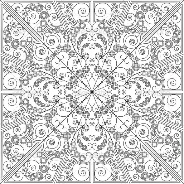GraphicRiver Arabesque Background 6156752
