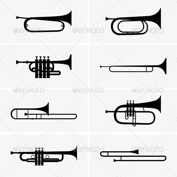 GraphicRiver Trumpets 6157332
