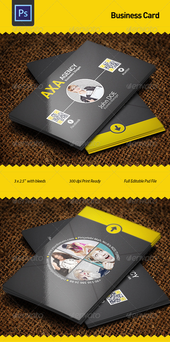 GraphicRiver Business Card 6156937