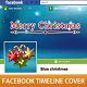 Blue Christmas Timeline Cover - GraphicRiver Item for Sale