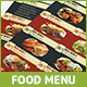 A4 Food Menu / Flyer - GraphicRiver Item for Sale