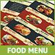 A4 Food Menu / Flyer 饭店快-Graphicriver中文最全的素材分享平台