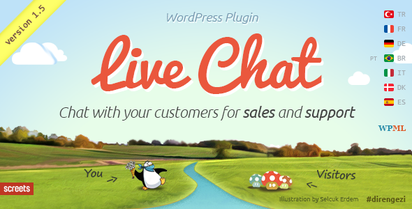 WordPress Live Chat Plugin for Sales and Support - CodeCanyon Item for Sale