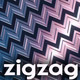 Techno Zigzag Backgrounds - GraphicRiver Item for Sale