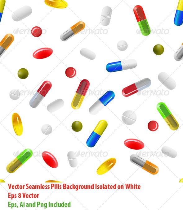 GraphicRiver Pills Background 6160803