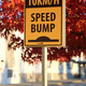 Speed bump road sign - PhotoDune Item for Sale