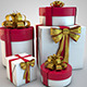 27th - 4 Present Boxes in HirRes - GraphicRiver Item for Sale