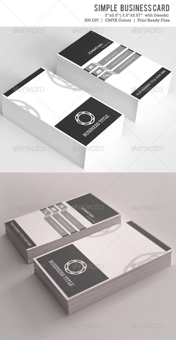 GraphicRiver Simple Business Card VOL-04 6163209