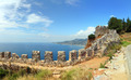mediterranean sea - view from fortress Alanya - PhotoDune Item for Sale
