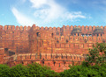 red fort wall in Agra - PhotoDune Item for Sale