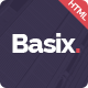 Basix - Super Clean Corporate HTML Template - ThemeForest Item for Sale