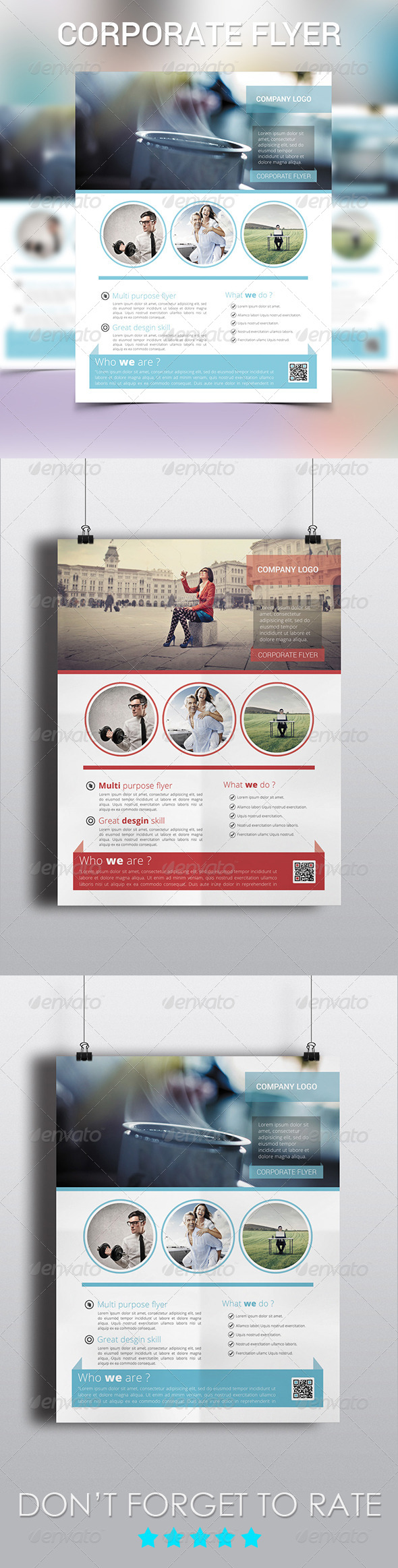 GraphicRiver Corporate Flyer Template 6164560