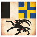 Grunge flag of Grisons (Switzerland) - PhotoDune Item for Sale
