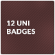 8 Universal Badges - GraphicRiver Item for Sale
