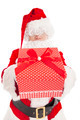santa claus showing gift box - PhotoDune Item for Sale