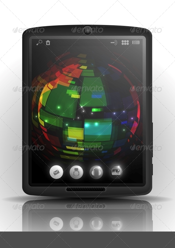 GraphicRiver Tablet Pc 6168986