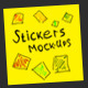 Stickers Mock-Ups - GraphicRiver Item for Sale