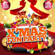 X'mas Fun Party Flyer Template - GraphicRiver Item for Sale