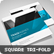 Trade Agency - Square Tri-fold Brochure - GraphicRiver Item for Sale