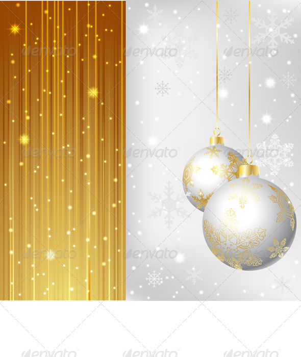 GraphicRiver Christmas Background 6171829