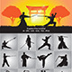 Wushu and Samurai Silhouette - GraphicRiver Item for Sale