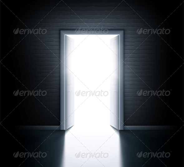 GraphicRiver Open Door 6173043