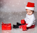 Little boy in christmas clothes - PhotoDune Item for Sale