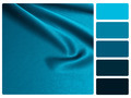 Blue satin colour palette swatch - PhotoDune Item for Sale