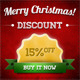 Merry Christmas Web Banner Ads - GraphicRiver Item for Sale