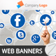 Web Banners 007 - GraphicRiver Item for Sale