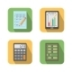 Set of Financial Business Tools - GraphicRiver Item for Sale