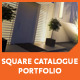Square Catalogue Portfolio - GraphicRiver Item for Sale