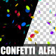Confetti Alpha - VideoHive Item for Sale