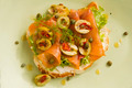 Salmon Open Sandwich - PhotoDune Item for Sale