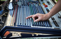 Sound engineer works with sound mixer - PhotoDune Item for Sale